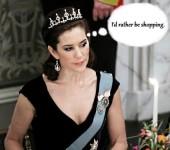 Denmark's Queen Mary - Sexy Queen, eh?
