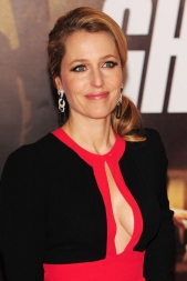 Gillian Anderson -- wow She's the only reason I watched The X Files