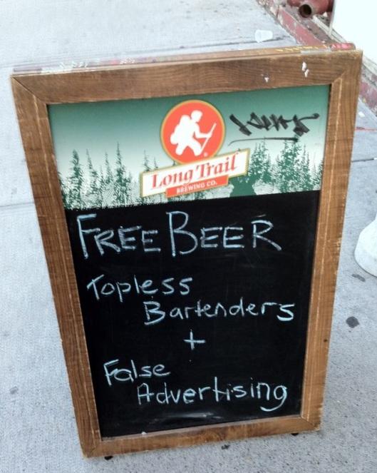 Topless Bartenders