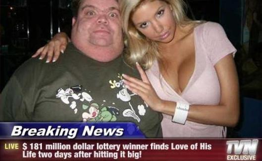 Lucky Lottery Winner!